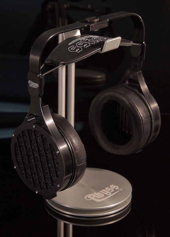 Abyss headphones boast lambskin ear pads and a portable amp