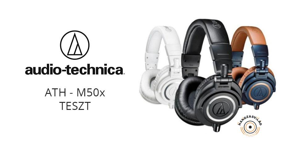 Audio-Technica ATH-M50x fejhallgató - HangzásVilág MagazinHangzásVilág  Magazin 78b71b66ac
