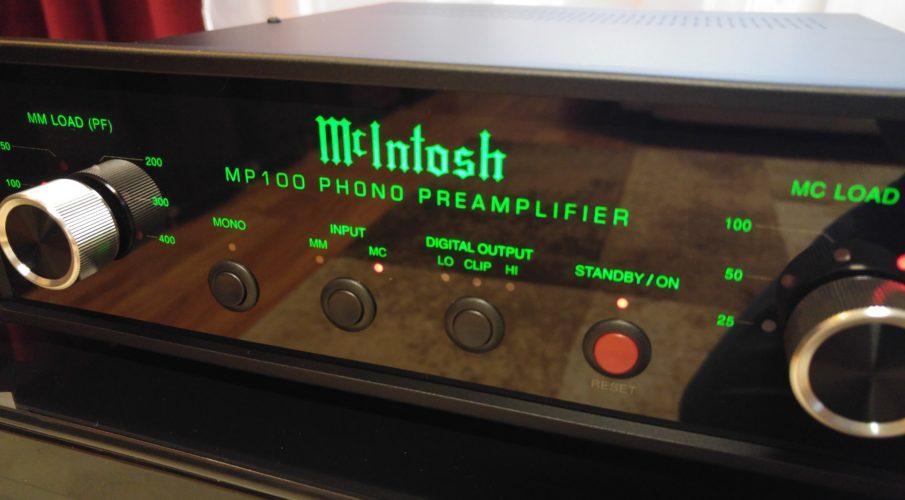 McIntosh MP100 lemezjátszó-előerősítő