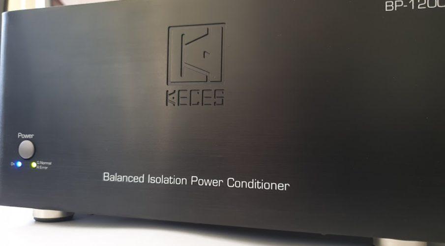 KECES Audio BP-1200 szimmetrikus hálózati leválasztó egység