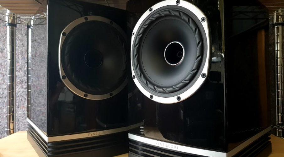 Fyne Audio F500 állványos hangsugárzó