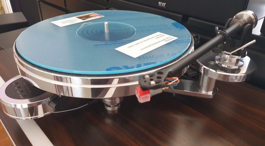 Acoustic Solid – 110 Metall lemezjátszó