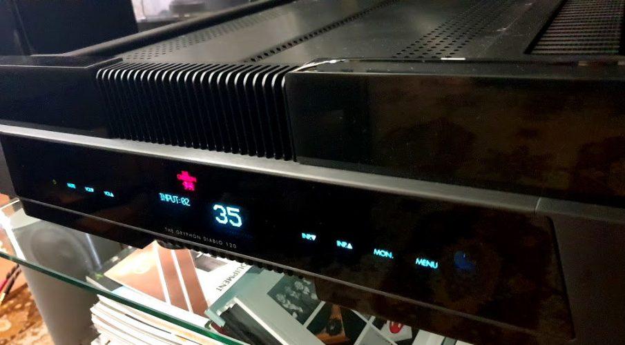 Gryphon Audio Diablo 120 integrált erősítő