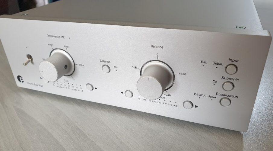 Pro-Ject Phono Box RS2 előerősítő