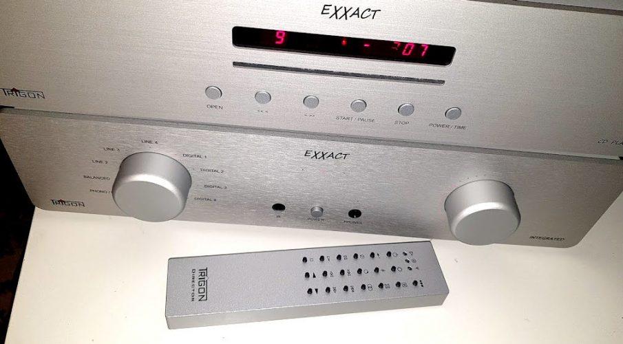Trigon Audio – Exxact integrált erősítő és CD-lejátszó