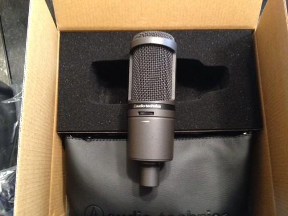 AT2020USBi microphone
