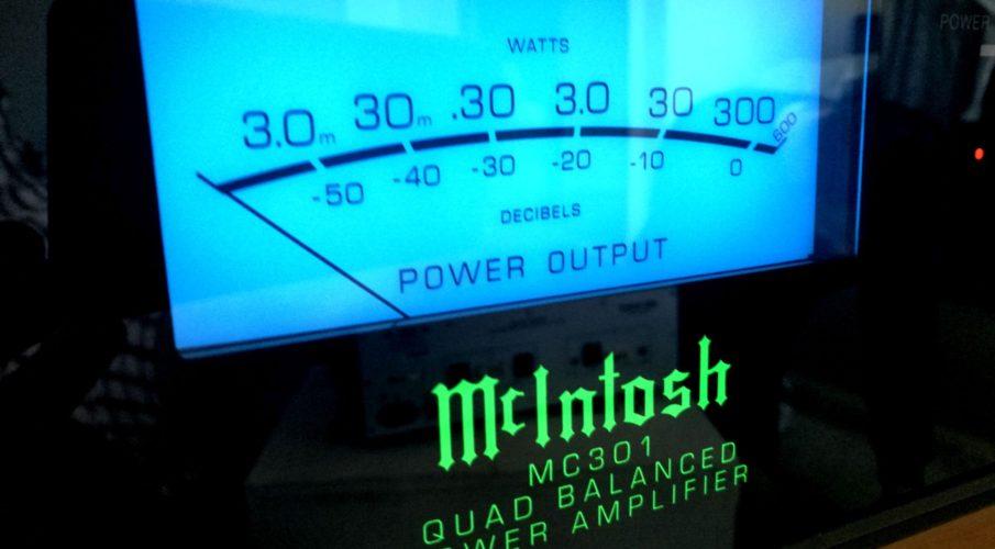 McIntosh C50 előfok MC301 mono-blokk végerősítő