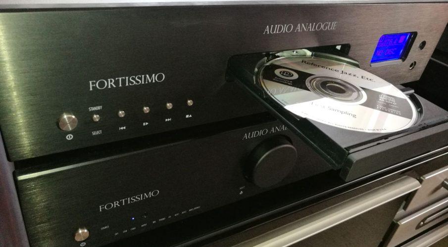 Audio Analogue Fortissimo CD-játszó és integrált erősítő