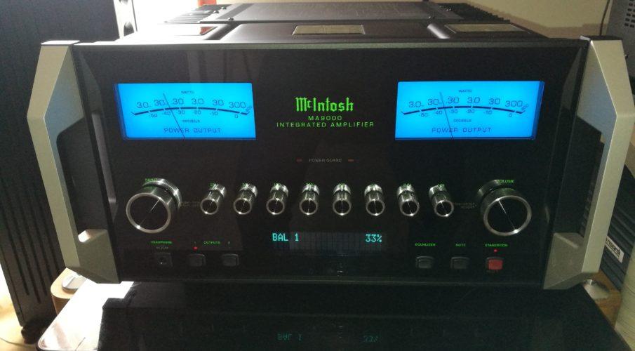 McIntosh MA9000 integrált erősítő