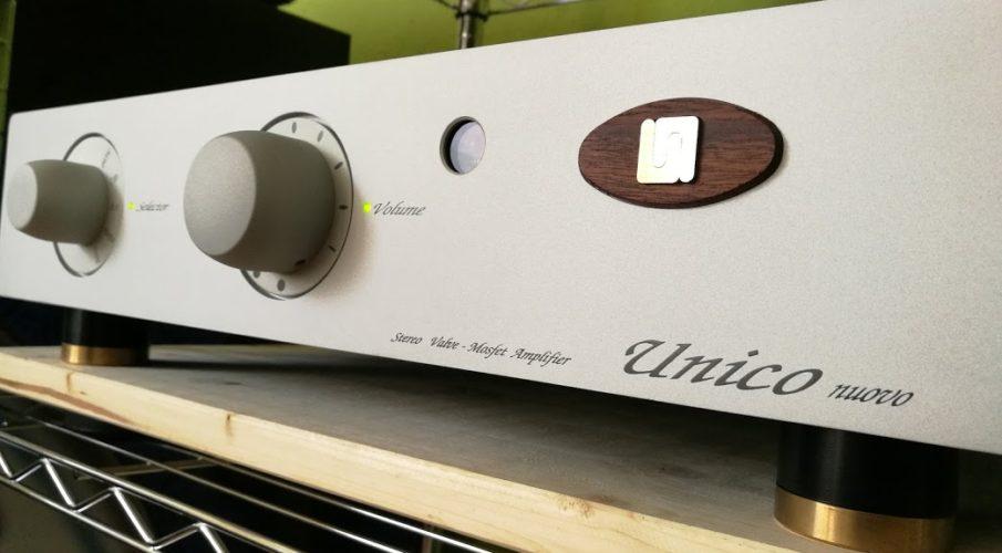 Unison Research Unico Nuovo hybrid, integrált erősítő