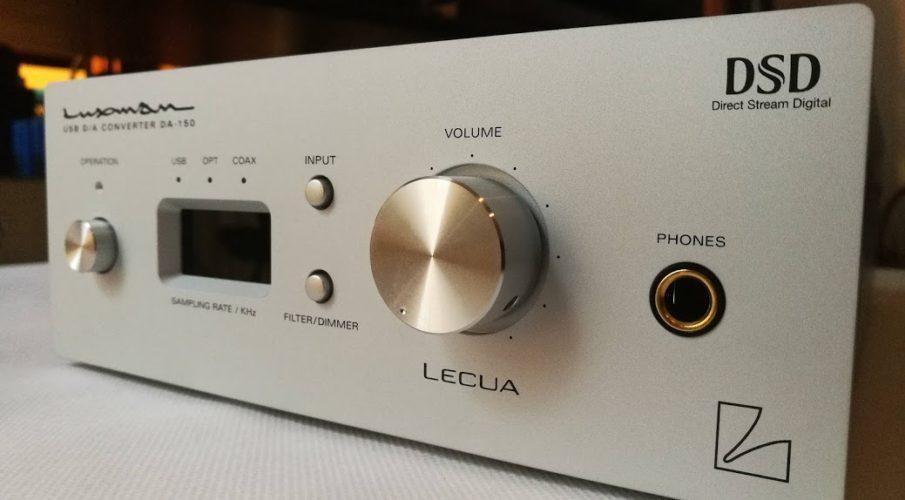 Luxman DA-150 DAC és fejhallgató-erősítő