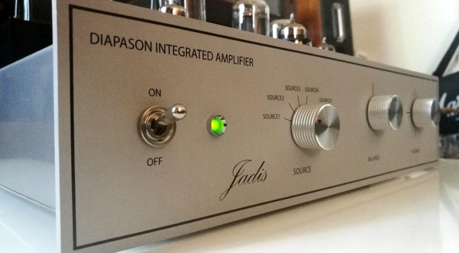 Jadis Diapason elektroncsöves integrált erősítő