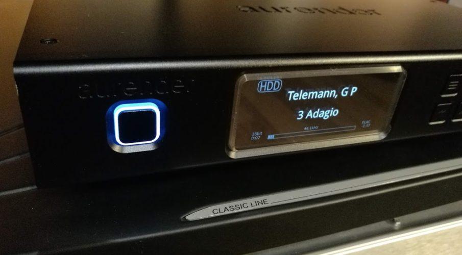 Aurender A10 hálózati lejátszó