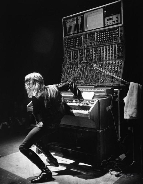 Keith Emerson on keybords