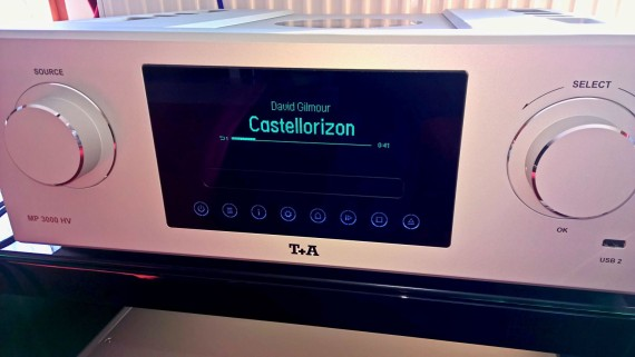 T+A MP3000HV multi-játszó front