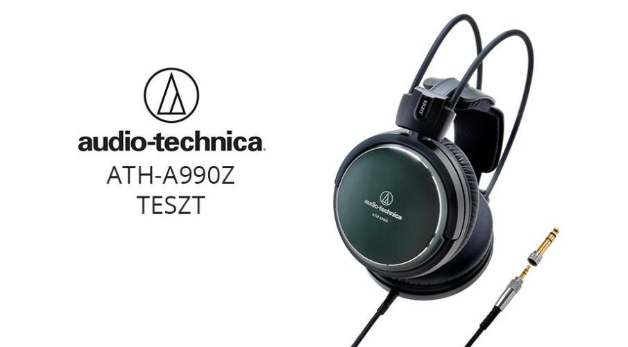 Audio-Technica ATH-A990Z zárt konstrukciójú fejhallgató
