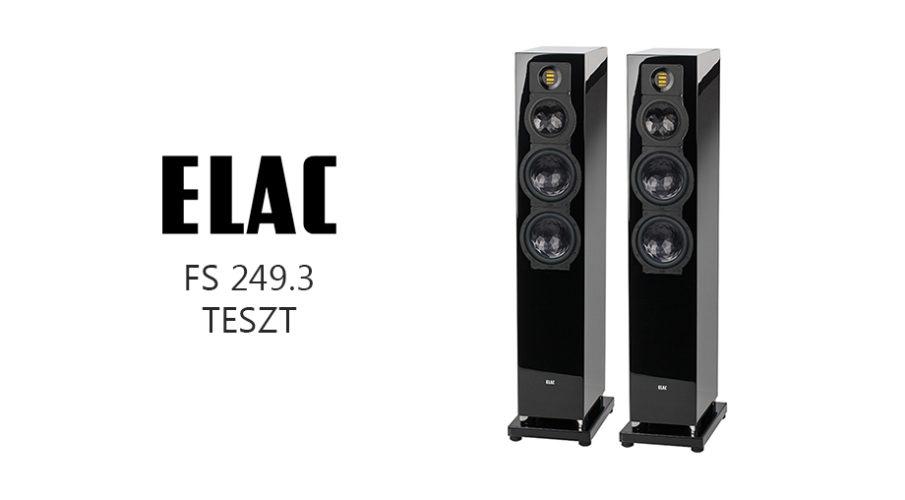 Elac FS 249.3 álló hangsugárzó