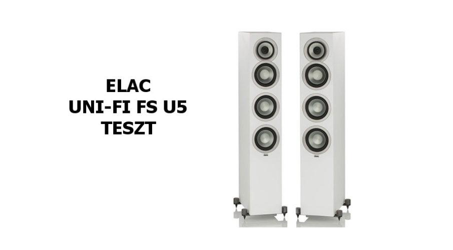 ELAC Uni-Fi Slim FS U5 álló hangsugárzó