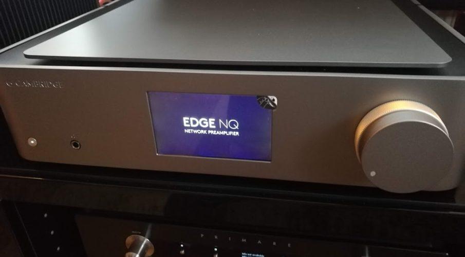 Cambridge Audio Edge NQ sztereó hálózati lejátszó és előerősítő