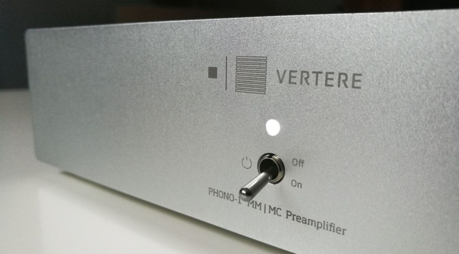 Vertere PHONO-1 MM/MC előerősítő