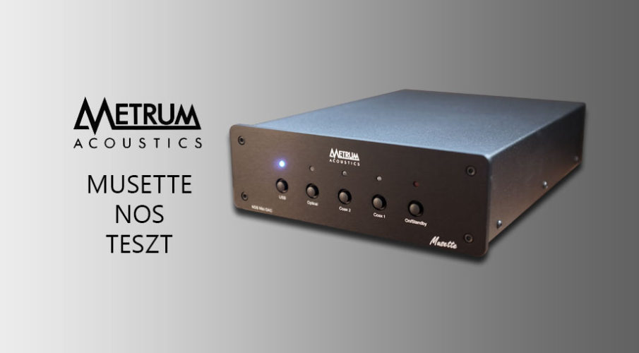 Metrum Acoustics – Musette NOS single ended DAC